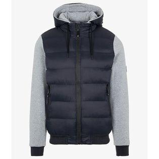 Men's Hybrid Hooded Jacket