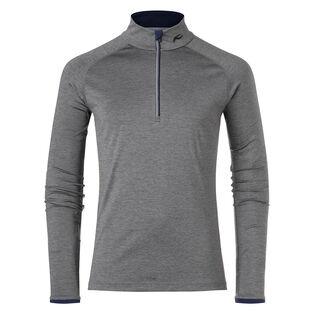 Men's Feel Half-Zip Turtleneck Sweater