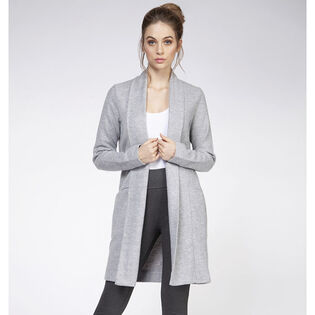 Women's Basic Open Front Cardigan