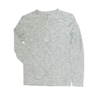 Men's Basic Henley Top