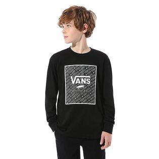 Junior Boys' [8-16] Print Box Long Sleeve T-Shirt
