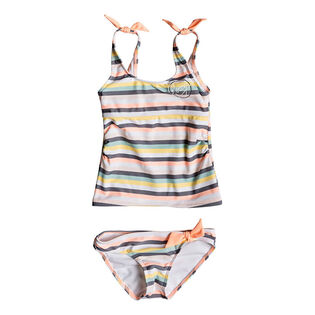 Girls' [3-6] Lets Go Surfing Two-Piece Tankini
