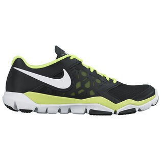 Chaussures d'entraînement Flex Supreme T<FONT>R</FONT> 4 pour hommes [Noir/Volt]