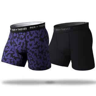 Men's SuperFit Boxer Brief (2 Pack)