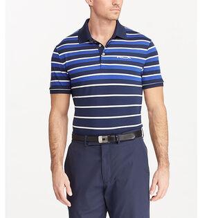 Men's Custom Slim Tech Pique Polo