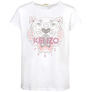 Junior Girls' [8-14] Tiger T-Shirt