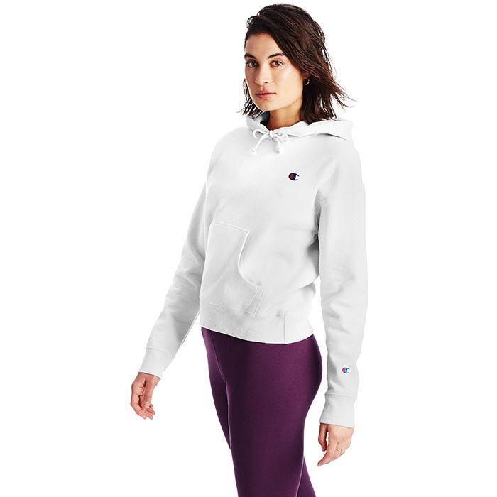 Chandail à capuchon Reverse Weave® C Logo pour femmes