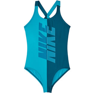 Junior Girls' [7-16] Rift Crossback One-Piece Swimsuit