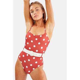 Women's The Nina Belt One-Piece Swimsuit