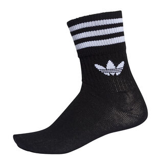 Unisex Mid-Cut Crew Sock (3 Pack)