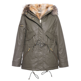 Women's Mini Luxe Limelight Coat