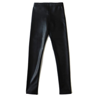 Junior Girls' [7-16] Vegan Leather Legging
