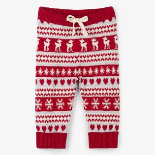 Baby Girls' [6-24M] Snowflake Knit Pant