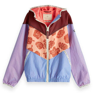 Junior Girls' [8-16] Sporty Colourblock Jacket