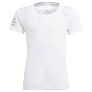 Junior Girls' [8-16] Club Tennis T-Shirt