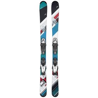 Skis Souphead SLR Pro pour juniors + fixations SLR 4.5 GW AC JR. [2020]
