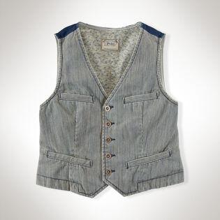 Junior Girls' Denim Vest