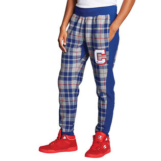 Men's Reverse Weave® Plaid Jogger Pant