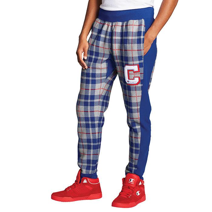 Pantalon de jogging à carreaux Reverse Weave® pour hommes