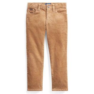 Pantalon ajusté Varick en velours côtelé pour garçons [5-7]