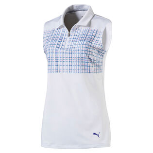 Women's Sport Sleeveless Golf Polo