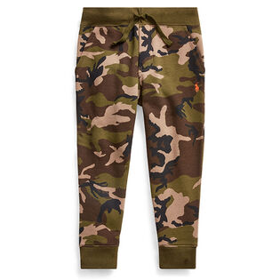 Boys' [5-7] Camo Print Fleece Jogger Pant