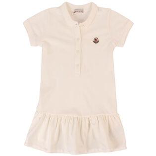 Robe polo en piqué pour filles [4-6]