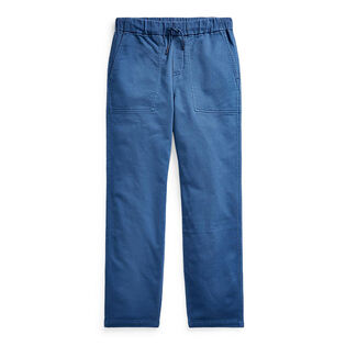 Boys' [5-7] Tapered Stretch Cotton Pant