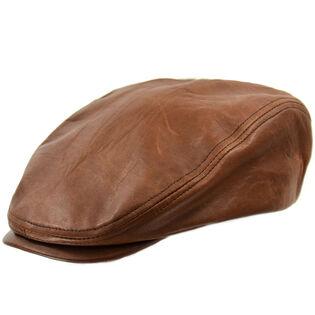 Men's Leather Ivy Cap