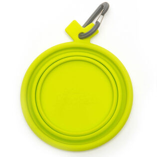 Large Travel Collapsible Silicone Bowl
