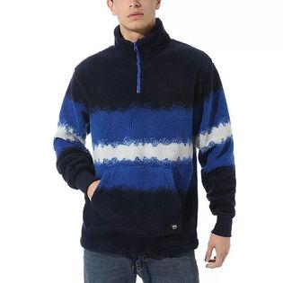 Men's Cozy Sherpa Quarter-Zip Pullover Sweater