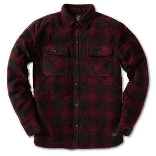 Men's Bowered Polar Fleece Shirt Jacket