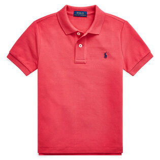 Boys' [5-7] Cotton Mesh Polo