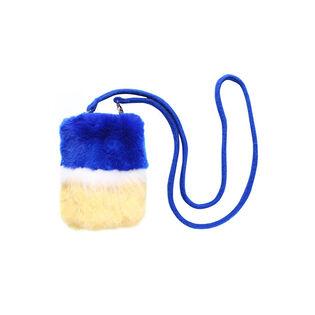 Women's Fur Pouch Bag