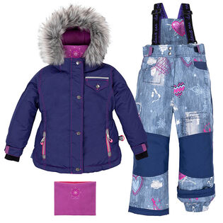 Girls' [2-6] Jeans Mania Two-Piece Snowsuit