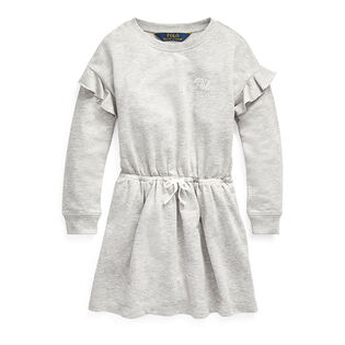 Girls' [2-4] Ruffled French Terry Dress