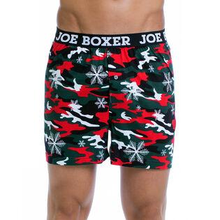 Men's Xmas Camo Boxer