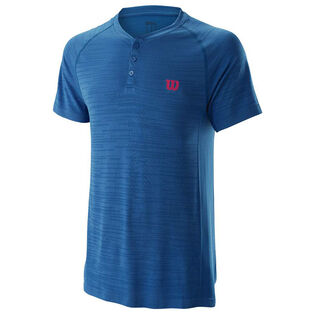 T-shirt Henley Competition pour hommes