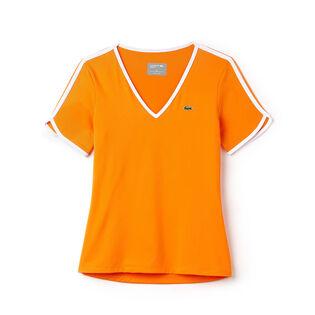 Women's V-Neck Tech Tennis T-Shirt