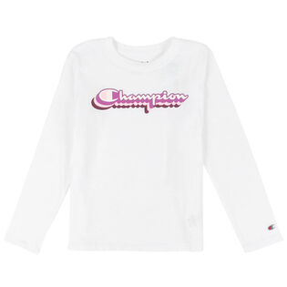 Girls' [2-6X] Retro Script T-Shirt