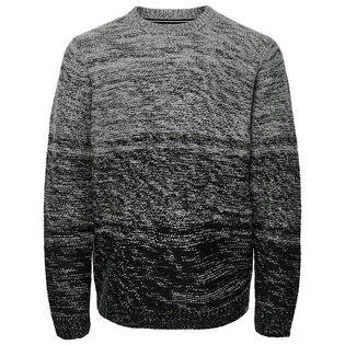 Chandail en tricot contrastant pour hommes