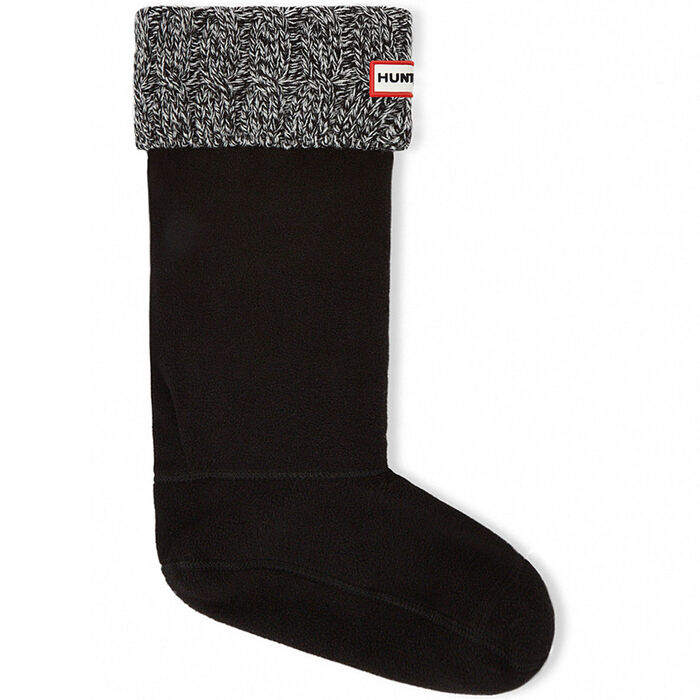 Unisex Six-Stitch Cable Boot Sock