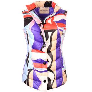 Women's Vallauris Print Quilted Vest