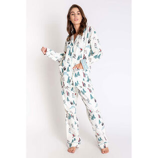 Women's Bearly Awake Flannel Two-Piece Pajama Set