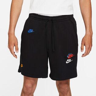 Short Sportswear Essential+ en tissu bouclette pour hommes