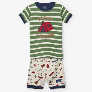 Boys' [2-7] Summer Camp Two-Piece Pajama Set