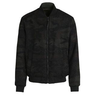 Men's Reversible Wool Cruiser Bomber Jacket