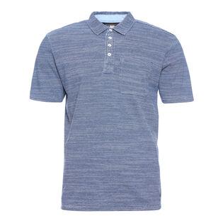 Men's Indigo Jersey Polo