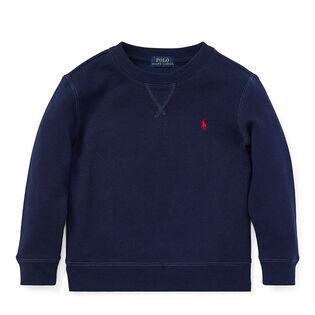 Boys' [5-7] Cotton-Blend Fleece Sweatshirt