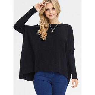 Women's Raw Trim Sweater